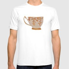Teacup MEDIUM Mens Fitted Tee White
