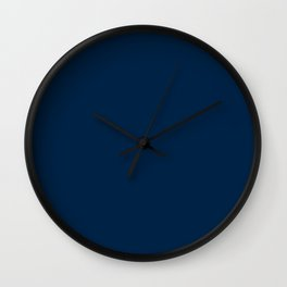 Los Angeles Football Team Navy Blue Solid Mix and Match Colors Wall Clock
