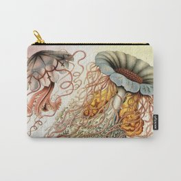 SEA CREATURES COLLAGE-Ernst Haeckel Carry-All Pouch