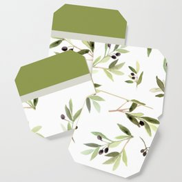 Olives in Green Coaster