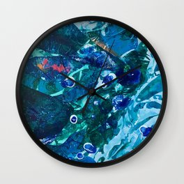 Look Into The Deep Wall Clock