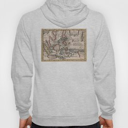 Vintage Map of Indonesia and The Philippines (1659) Hoody