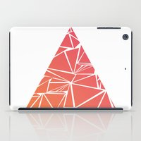 pyramid iPad Cases featuring Pyramid by Mariam Calitri