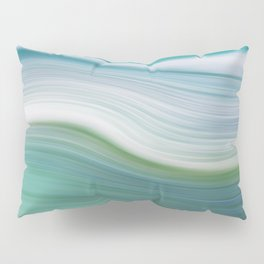 OCEAN ABSTRACT Pillow Sham