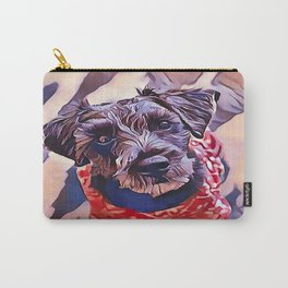The Schnoodle - A Schnauzer Poodle Mix Breed Carry-All Pouch