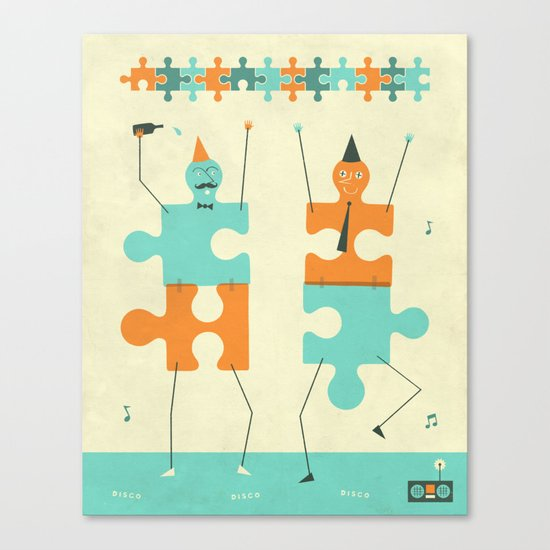 MIS-FITS Canvas Print