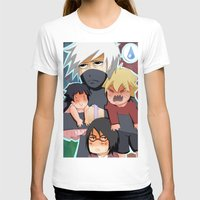 kakashi T-shirts featuring The babysitter by Momo Aiko