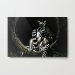 Loving Each other! Metal Print