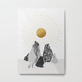 Rock Formation No.2 Metal Print