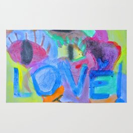 Summer Love | Painting by Elisavet Rug