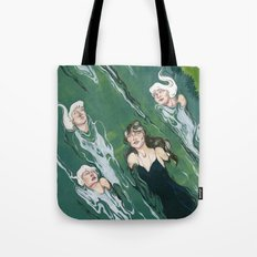 Against the Current  Tote Bag