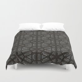 ornament oriental pattern Duvet Cover