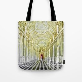 Gallery of Diana, Royal Palace of Venaria Reale, Turin Italy Portrait Painting by Jeanpaul Ferro Tote Bag