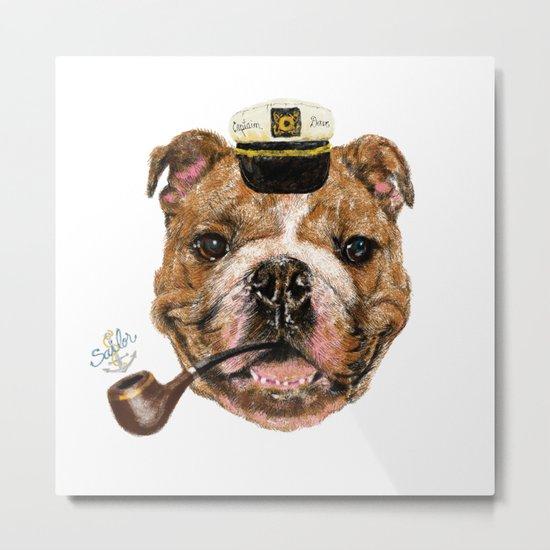 Mr.Bull Metal Print