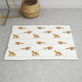 Fox Tracks Rug