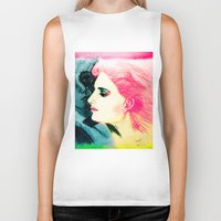 silent Biker Tanks featuring Silent Love by famenxt
