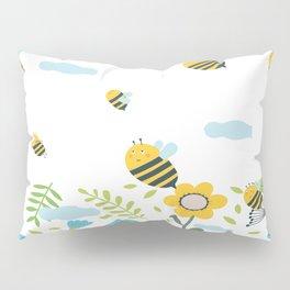Bee Flaying Pillow Sham