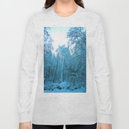 Snow and Shapes Long Sleeve T-shirt
