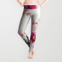 FLORAL PATTERN4 Leggings