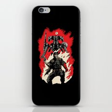 Hellboss iPhone & iPod Skin