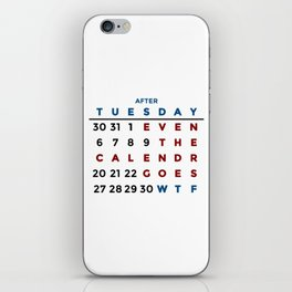 Calendar What The WTF iPhone Skin