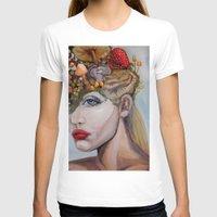 alice in wonderland T-shirts featuring Wonderland by HeatherIRELANDArtz