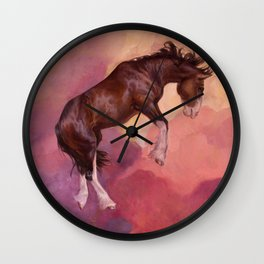 Afterlight Wall Clock