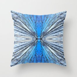 174 - Tree abstract design Throw Pillow