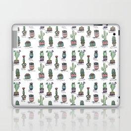 Cactus and Succulent Pattern Laptop & iPad Skin
