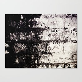 Wall of Darkness Canvas Print