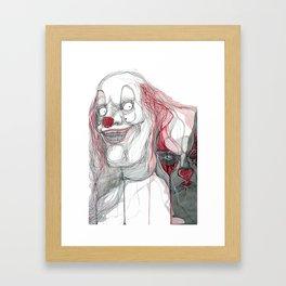 The Clowns Framed Art Print