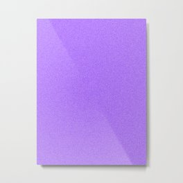 Dense Melange - White and Indigo Violet Metal Print