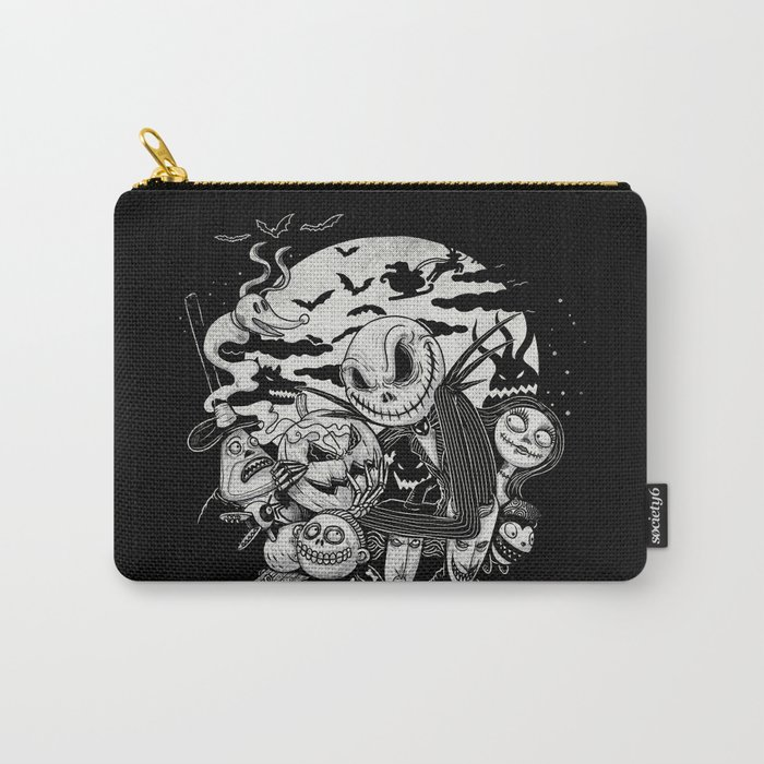 Filling Your Dreams to the Brim with Fright Carry-All Pouch