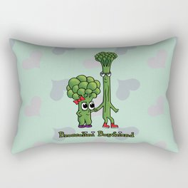 Broccolini Boyfriend Rectangular Pillow