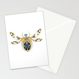 Mechanical Insect ( Steampunk ) Stationery Cards