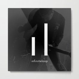 infiniteloop art Metal Print