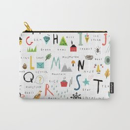 ABC Carry-All Pouch