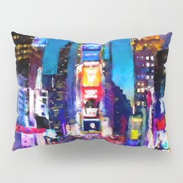 New York at Night Pillow Sham