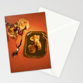 Eat More Chicken Stationery Cards