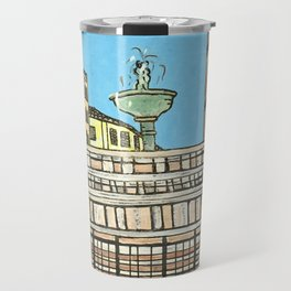 fontana maggiore, perugia Travel Mug