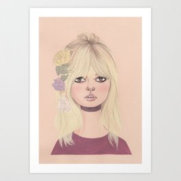 bb flowers Art Print