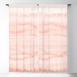 WITHIN THE TIDES - LIVING CORAL Blackout Curtain
