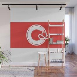 Flag of Calgary Wall Mural