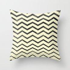 Zag (natural) Throw Pillow