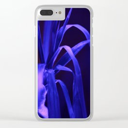 Plant in Luminescence, Fluorescence, Neon light Clear iPhone Case