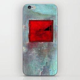 VENTANA EN EL MURO iPhone Skin