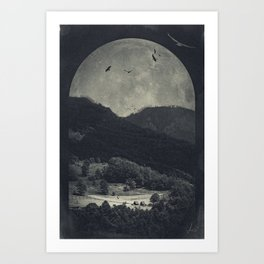 eerie landscapes 4 Art Print
