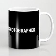 WORLD'S OKAYEST PHOTOGRAPHER Mug