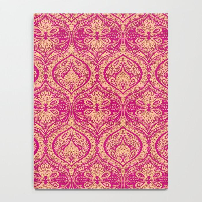 Simple Ogee Pink Notebook