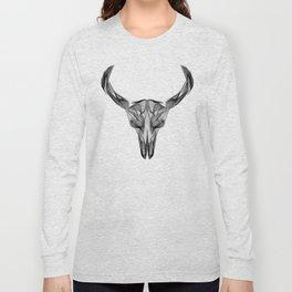 bull Skull Long Sleeve T-shirt